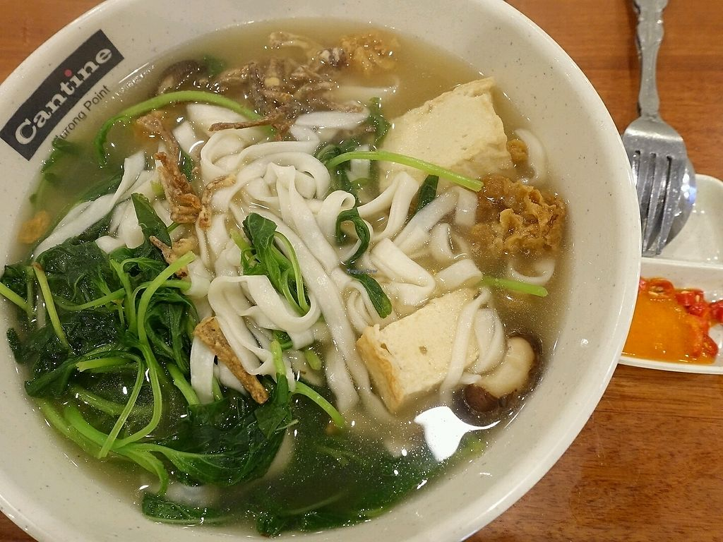 "Photo of Xuan Miao Vegan - Jurong Point  by <a href=""/members/profile/JimmySeah"">JimmySeah</a> <br/>soup bian mian <br/> November 12, 2017  - <a href='/contact/abuse/image/100626/324735'>Report</a>"