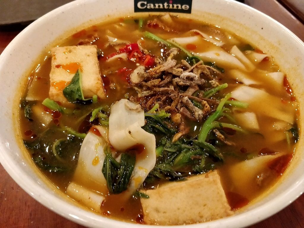 "Photo of Xuan Miao Vegan - Jurong Point  by <a href=""/members/profile/JimmySeah"">JimmySeah</a> <br/>tom yam mee hoon kuey. very spicy, be warned <br/> January 31, 2018  - <a href='/contact/abuse/image/100626/353179'>Report</a>"