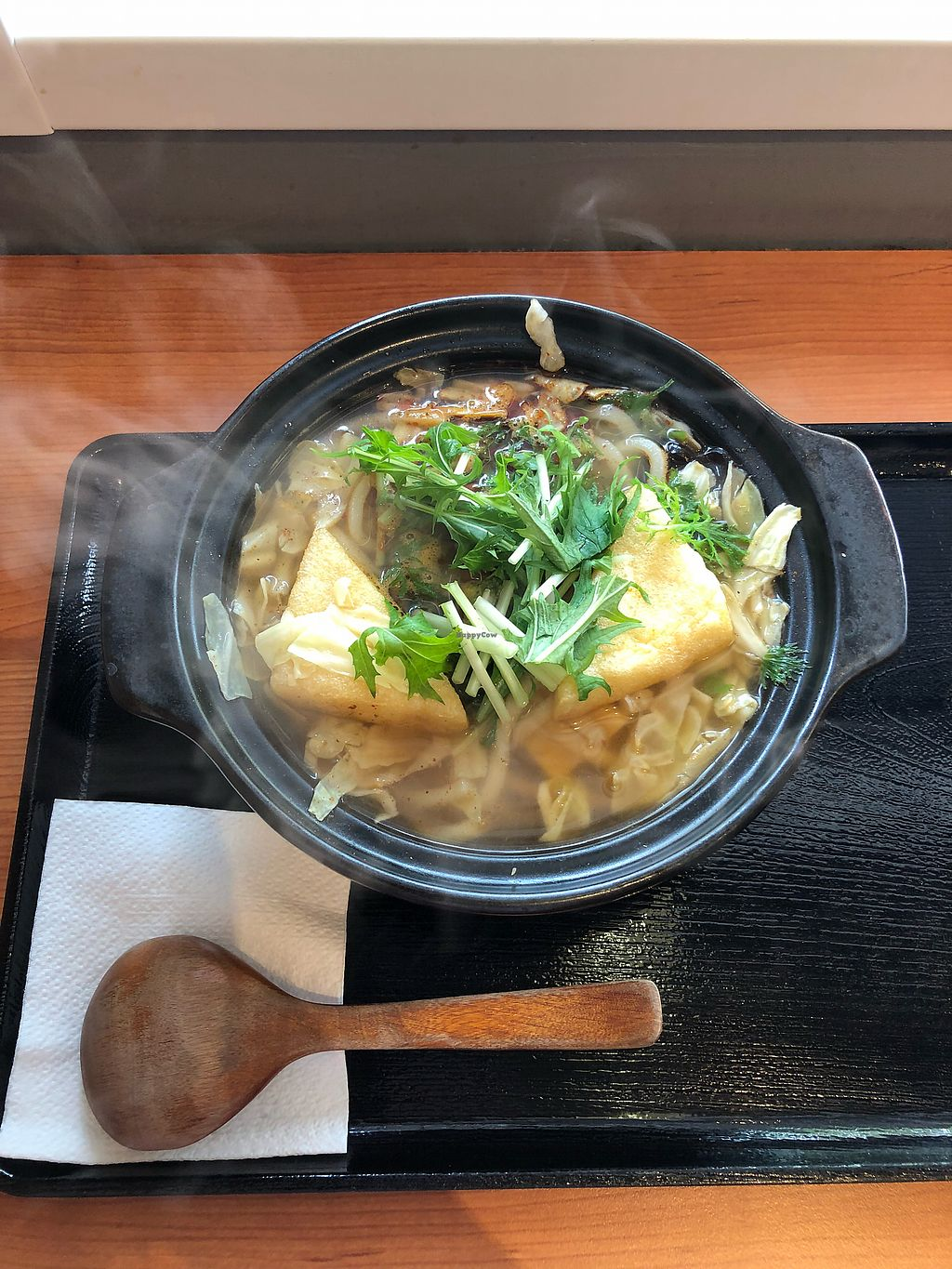 """Photo of Macrobiotics  by <a href=""""/members/profile/Dai"""">Dai</a> <br/>Chef special spicy with Udon noodles <br/> March 19, 2018  - <a href='/contact/abuse/image/100660/372788'>Report</a>"""