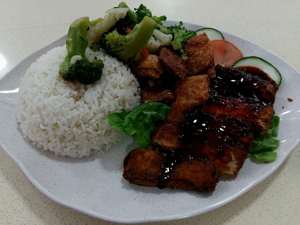 """Photo of Yi Pin Xiang   by <a href=""""/members/profile/cashec"""">cashec</a> <br/>Black Pepper Veg chicken chop rice <br/> March 2, 2018  - <a href='/contact/abuse/image/100663/365608'>Report</a>"""