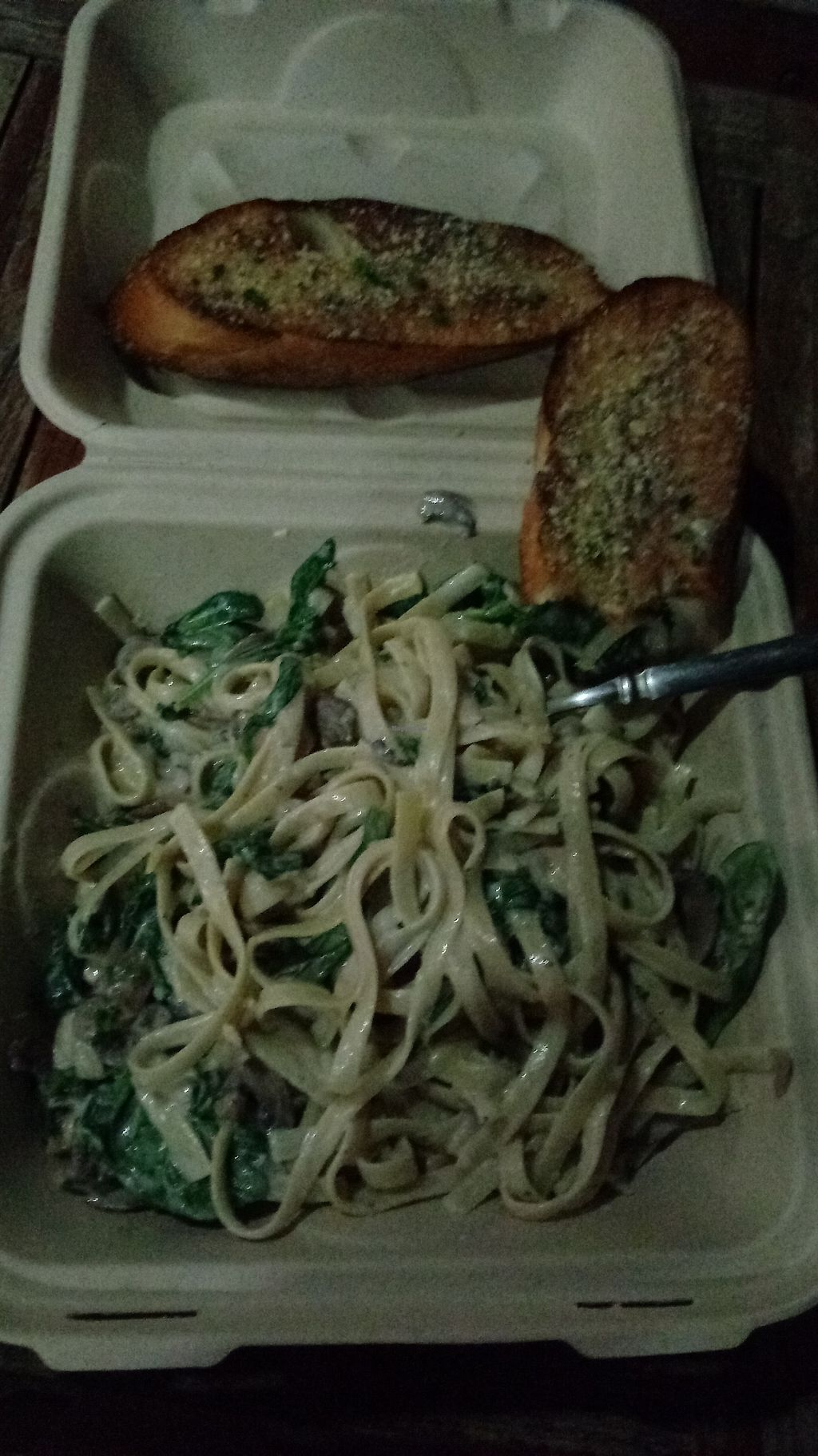 "Photo of The Lovin Oven  by <a href=""/members/profile/aliskydiver"">aliskydiver</a> <br/>Alfredo pasta <br/> November 30, 2017  - <a href='/contact/abuse/image/100664/330745'>Report</a>"