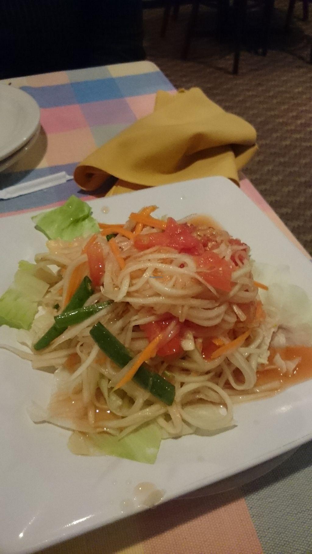 "Photo of The Bangkok House  by <a href=""/members/profile/ZoraySpielvogel"">ZoraySpielvogel</a> <br/>Popya salad.  <br/> September 10, 2017  - <a href='/contact/abuse/image/100695/303041'>Report</a>"