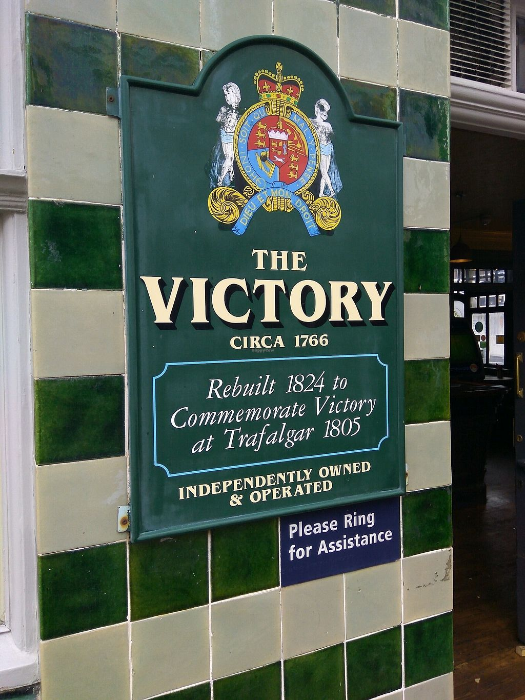 """Photo of Pattypan Kitchen at The Victory Pub  by <a href=""""/members/profile/Miggi"""">Miggi</a> <br/>sign outside <br/> September 10, 2017  - <a href='/contact/abuse/image/100701/303075'>Report</a>"""
