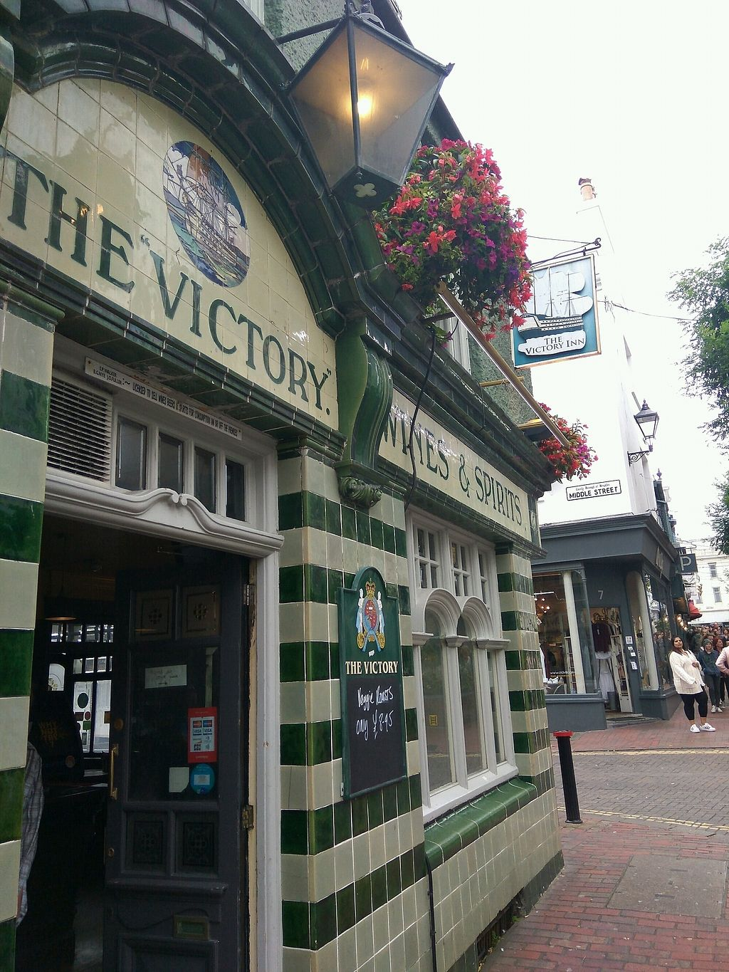 """Photo of Pattypan Kitchen at The Victory Pub  by <a href=""""/members/profile/Miggi"""">Miggi</a> <br/>outside <br/> September 10, 2017  - <a href='/contact/abuse/image/100701/303078'>Report</a>"""