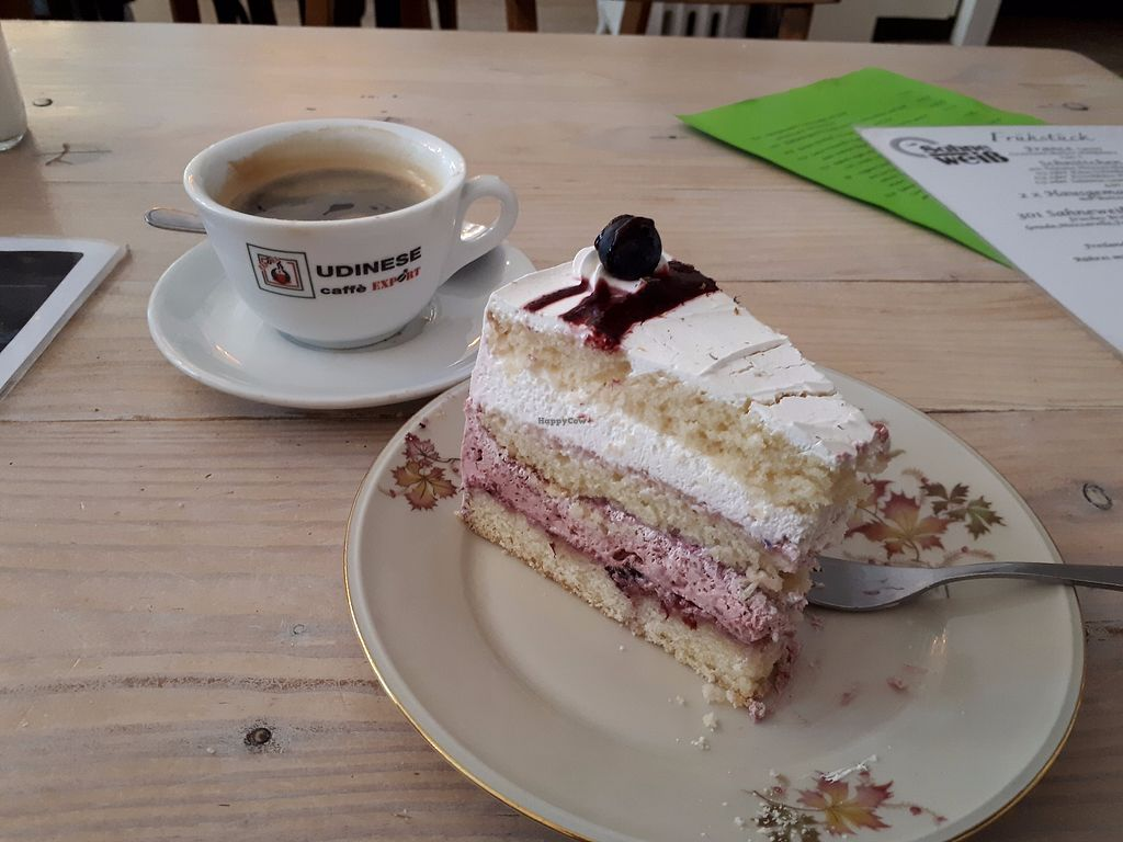 "Photo of Cafe Sahneweiss  by <a href=""/members/profile/Tea_and_Sparkles"">Tea_and_Sparkles</a> <br/>blueberry layer cake <br/> September 18, 2017  - <a href='/contact/abuse/image/100703/305752'>Report</a>"