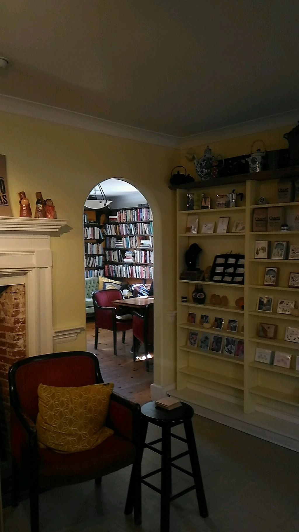 """Photo of The Biscuit Eater Cafe and Books  by <a href=""""/members/profile/QuothTheRaven"""">QuothTheRaven</a> <br/>inside <br/> November 12, 2017  - <a href='/contact/abuse/image/100711/324696'>Report</a>"""