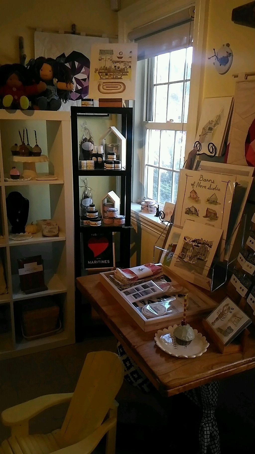 """Photo of The Biscuit Eater Cafe and Books  by <a href=""""/members/profile/QuothTheRaven"""">QuothTheRaven</a> <br/>local crafts <br/> November 12, 2017  - <a href='/contact/abuse/image/100711/324698'>Report</a>"""
