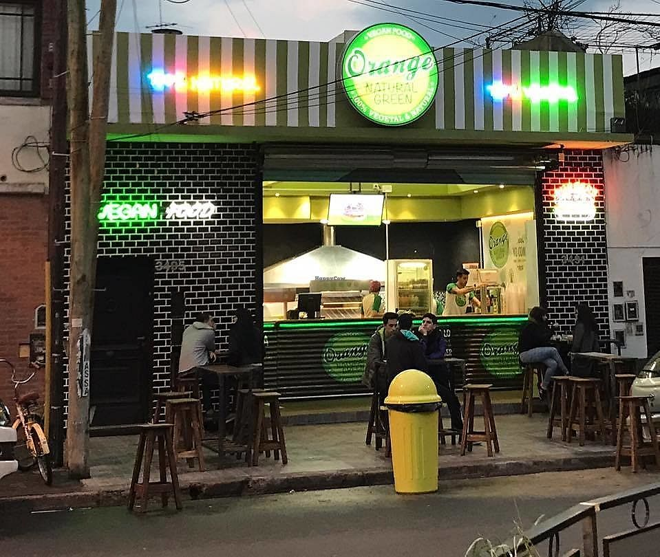 """Photo of Orange Natural Green  by <a href=""""/members/profile/madjennsy"""">madjennsy</a> <br/>People eating in outdoor seats <br/> September 14, 2017  - <a href='/contact/abuse/image/100735/304247'>Report</a>"""