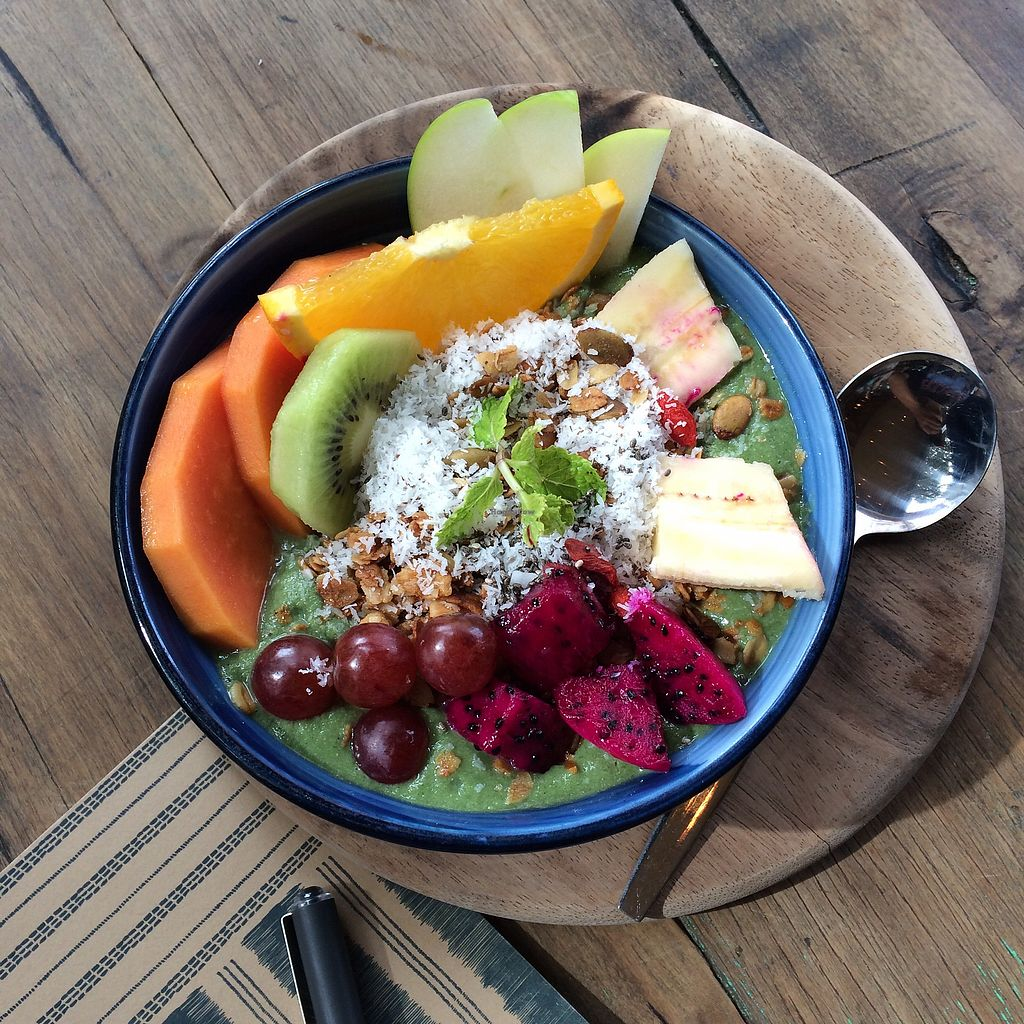 """Photo of Rustic & Blue  by <a href=""""/members/profile/evoontoast"""">evoontoast</a> <br/>green smoothie bowl <br/> September 18, 2017  - <a href='/contact/abuse/image/100744/305698'>Report</a>"""