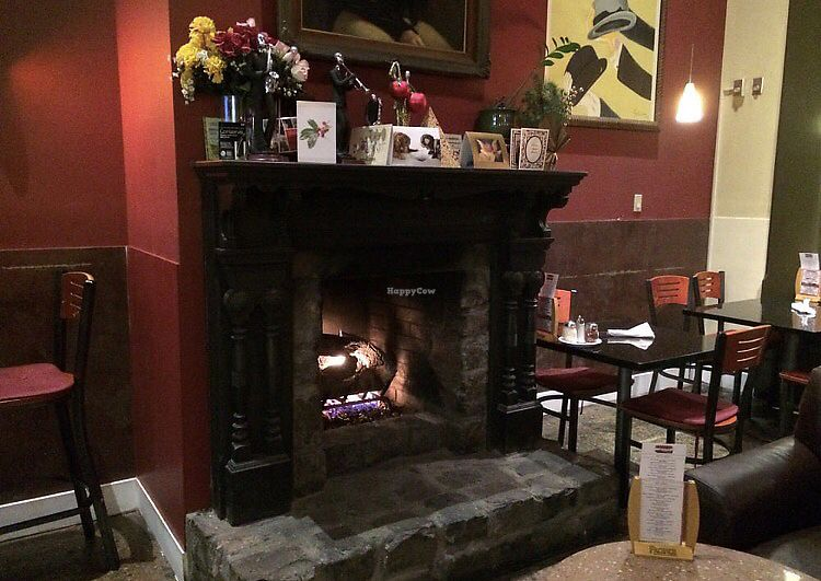 "Photo of CyBelle's Front Room  by <a href=""/members/profile/GlamourVegan"">GlamourVegan</a> <br/>Cozy Fireplace original since 1973 <br/> September 12, 2017  - <a href='/contact/abuse/image/100785/303480'>Report</a>"