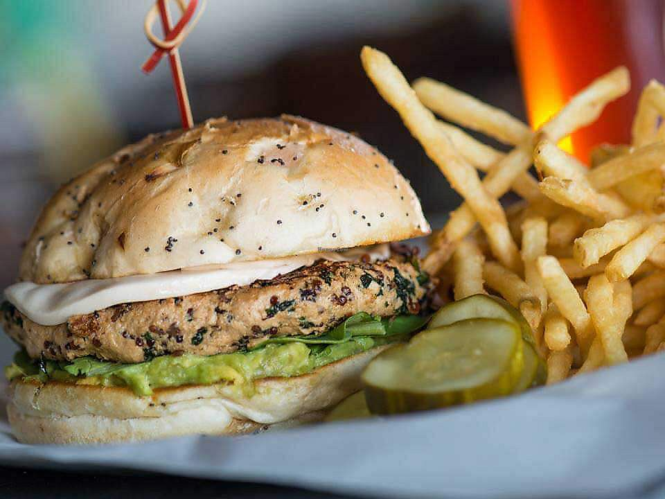 "Photo of Yard House  by <a href=""/members/profile/BriggitteJ"">BriggitteJ</a> <br/>Gardein Vegan Burger  <br/> September 20, 2017  - <a href='/contact/abuse/image/100817/306492'>Report</a>"