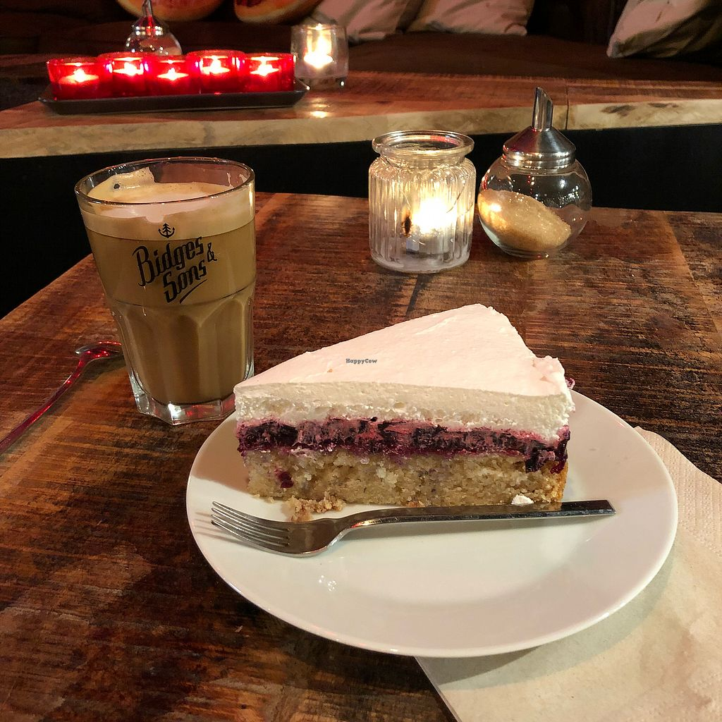 """Photo of Bidges & Sons  by <a href=""""/members/profile/whepper"""">whepper</a> <br/>The cakes & coffees are awesome. Be prepared for a sugar rush! ? <br/> January 29, 2018  - <a href='/contact/abuse/image/100823/352416'>Report</a>"""
