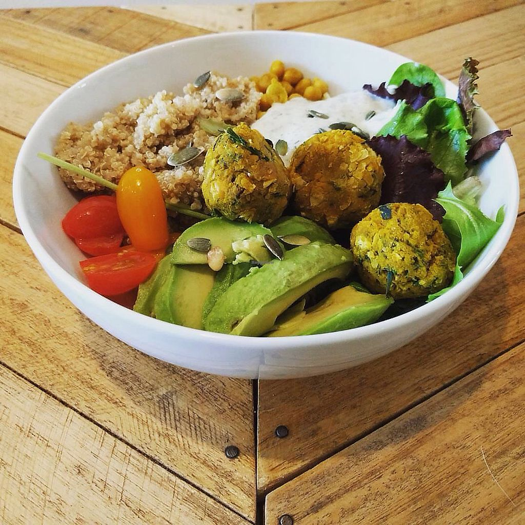 """Photo of Le Labo  by <a href=""""/members/profile/SandraVentura"""">SandraVentura</a> <br/>buddha bowl (can be vegan) <br/> September 13, 2017  - <a href='/contact/abuse/image/100827/304067'>Report</a>"""