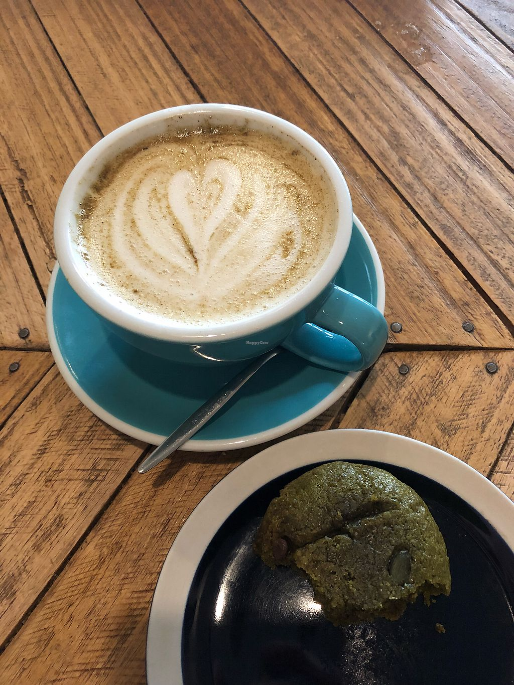 """Photo of Le Labo  by <a href=""""/members/profile/_hael"""">_hael</a> <br/>Chai /w Oat Milk & Matcha Cookie <br/> February 14, 2018  - <a href='/contact/abuse/image/100827/359267'>Report</a>"""