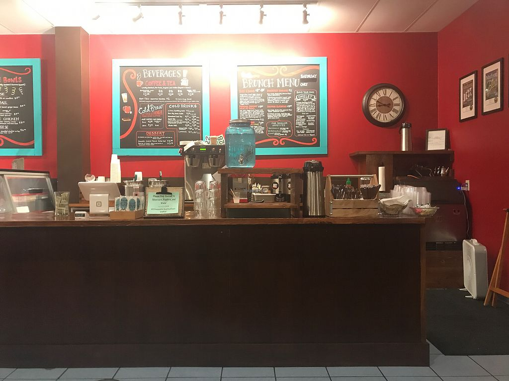 """Photo of Good Food Low Carb Cafe  by <a href=""""/members/profile/TheAllisonBauer"""">TheAllisonBauer</a> <br/>Interior <br/> September 20, 2017  - <a href='/contact/abuse/image/100842/306519'>Report</a>"""