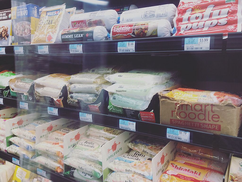 """Photo of Green Organic Market  by <a href=""""/members/profile/LilMsVegan"""">LilMsVegan</a> <br/>Tofu noodles that I love! <br/> December 27, 2017  - <a href='/contact/abuse/image/100856/339716'>Report</a>"""