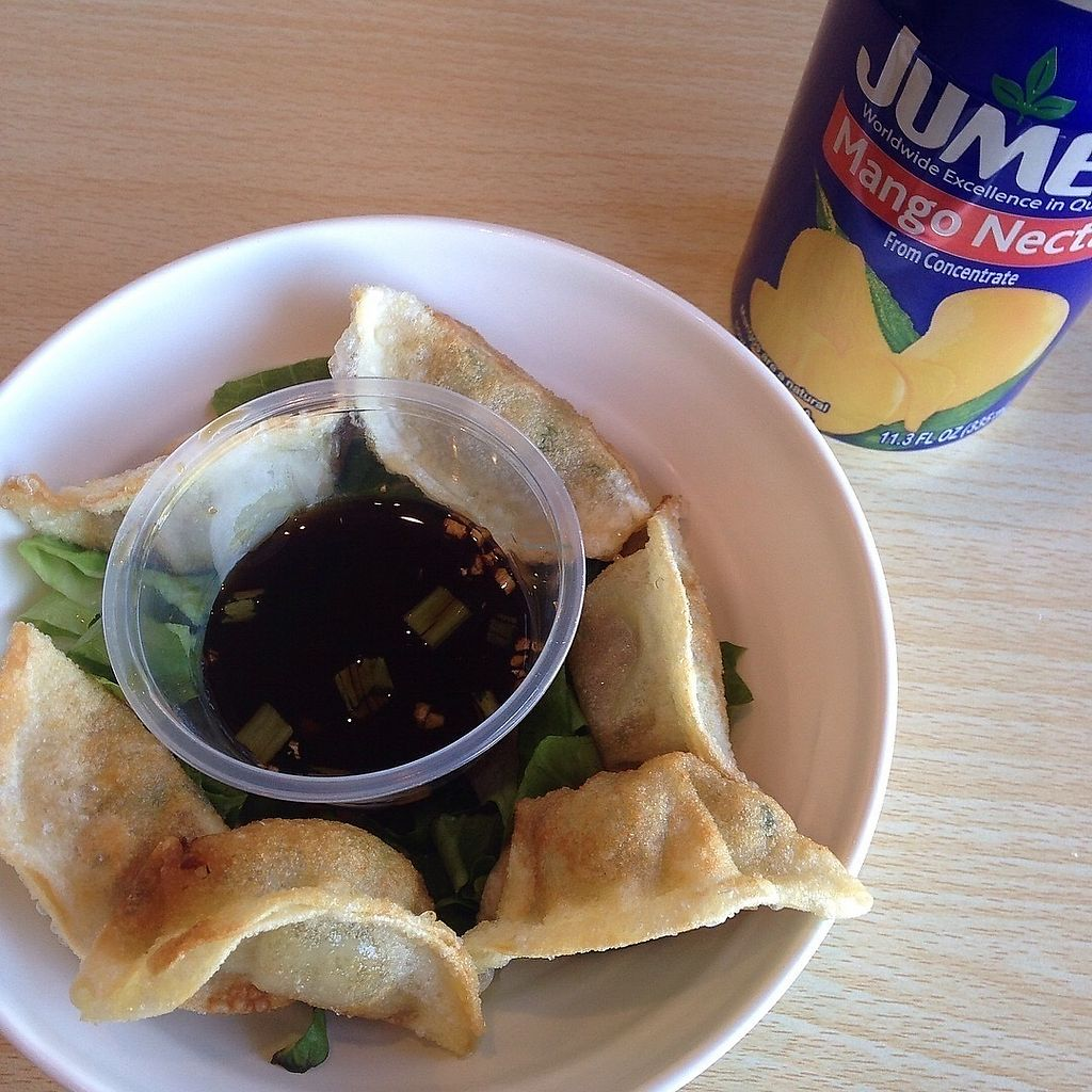 "Photo of Veggie House  by <a href=""/members/profile/SushiSauce"">SushiSauce</a> <br/>Potstickers <br/> October 10, 2017  - <a href='/contact/abuse/image/100875/313802'>Report</a>"