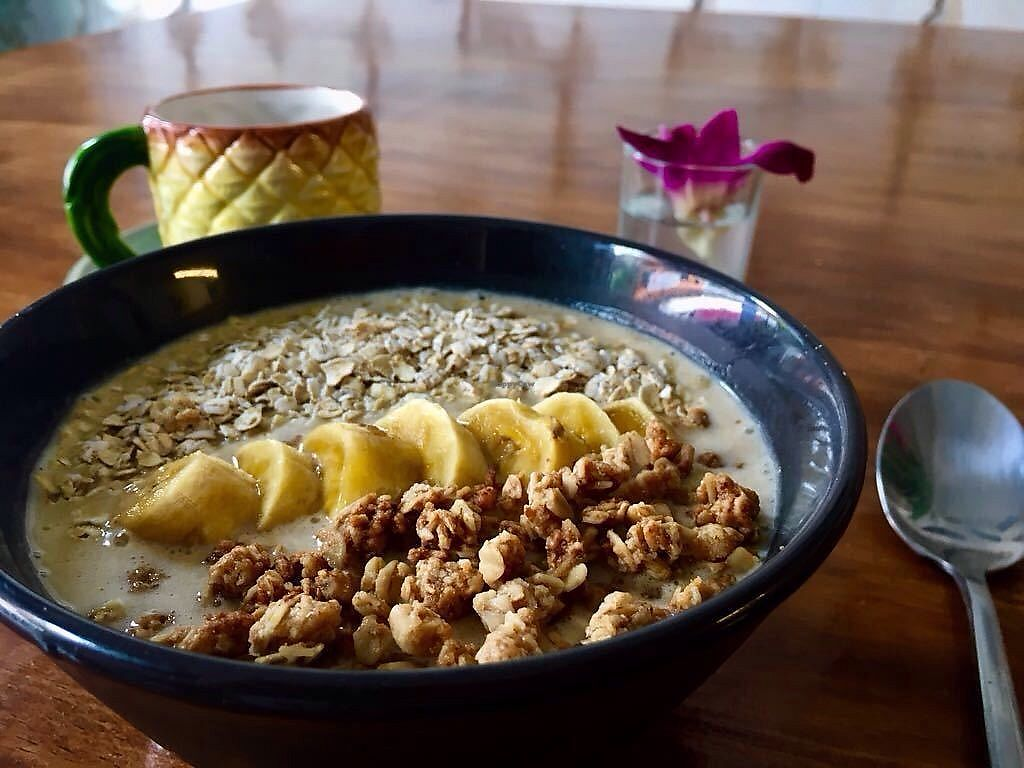 """Photo of Casa Sur  by <a href=""""/members/profile/Juhu"""">Juhu</a> <br/>Super Bowl: - Banana - Peanut butter - Granola - Oats - Honey <br/> September 28, 2017  - <a href='/contact/abuse/image/100891/309293'>Report</a>"""