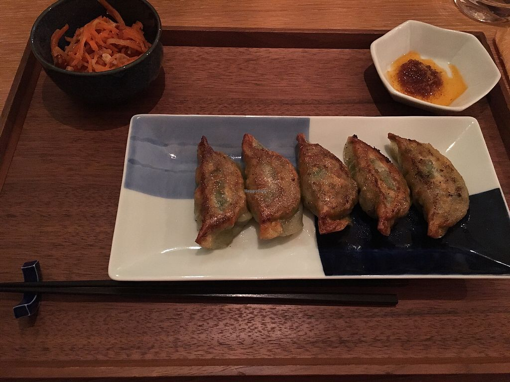 "Photo of Ikejiri Gyoza  by <a href=""/members/profile/YumeVegetarian"">YumeVegetarian</a> <br/>Vegetable gyoza  <br/> January 30, 2018  - <a href='/contact/abuse/image/100893/352581'>Report</a>"