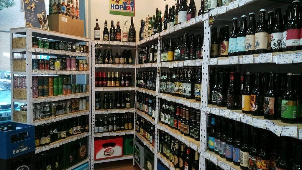 "Photo of ESPUMA - Tienda de Cervezas  by <a href=""/members/profile/CarlosMu%C3%B1ozPozo"">CarlosMuñozPozo</a> <br/>Cerveza artesana <br/> September 23, 2017  - <a href='/contact/abuse/image/100903/307396'>Report</a>"