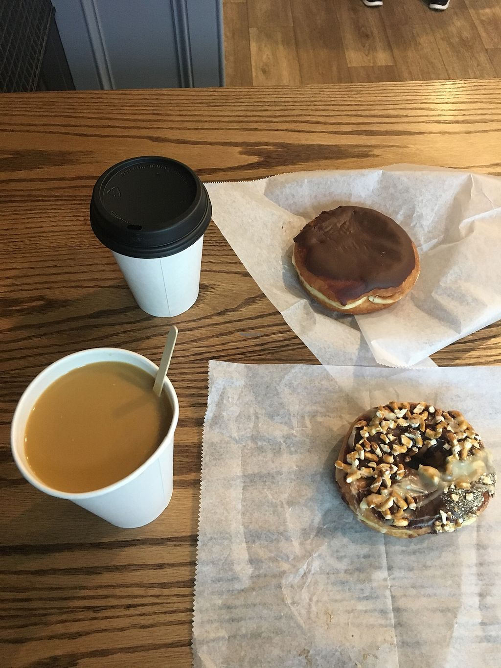 """Photo of Dottie's Donuts - Queen's Village  by <a href=""""/members/profile/770veg"""">770veg</a> <br/>Delightful! <br/> February 22, 2018  - <a href='/contact/abuse/image/100922/362463'>Report</a>"""