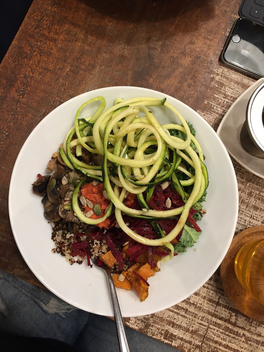 """Photo of Foodies  by <a href=""""/members/profile/nitahannele"""">nitahannele</a> <br/>Vegan bowl <br/> May 23, 2018  - <a href='/contact/abuse/image/100923/403727'>Report</a>"""