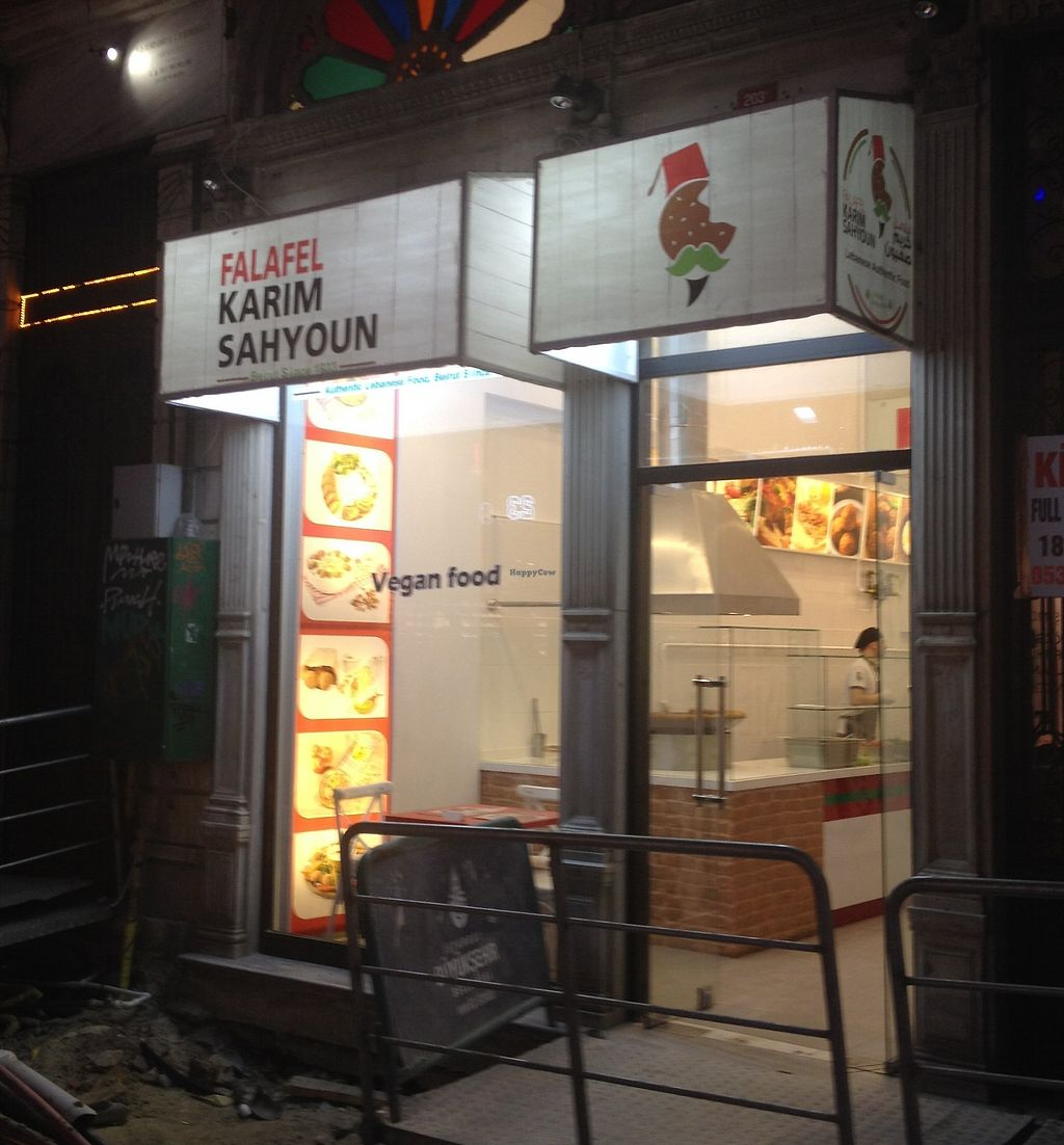 """Photo of Falafel Karim Sahyoun  by <a href=""""/members/profile/SG213"""">SG213</a> <br/>Shop front <br/> September 13, 2017  - <a href='/contact/abuse/image/100924/304086'>Report</a>"""
