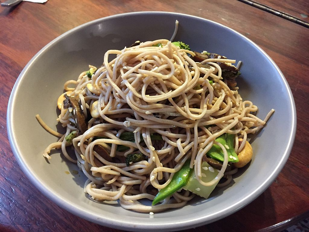 "Photo of Union Kiosk  by <a href=""/members/profile/Wuji_Luiji"">Wuji_Luiji</a> <br/>Soba noodle salad <br/> January 29, 2018  - <a href='/contact/abuse/image/100958/352256'>Report</a>"