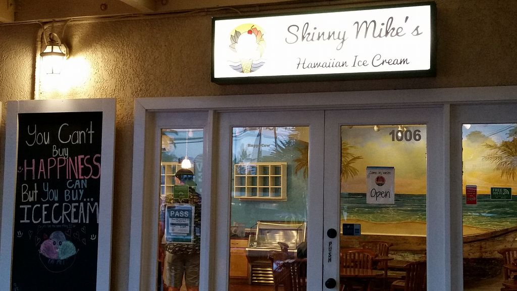 "Photo of Skinny Mike's Hawaiian Ice Cream  by <a href=""/members/profile/Conniemm"">Conniemm</a> <br/>Outside <br/> September 17, 2017  - <a href='/contact/abuse/image/100965/305297'>Report</a>"