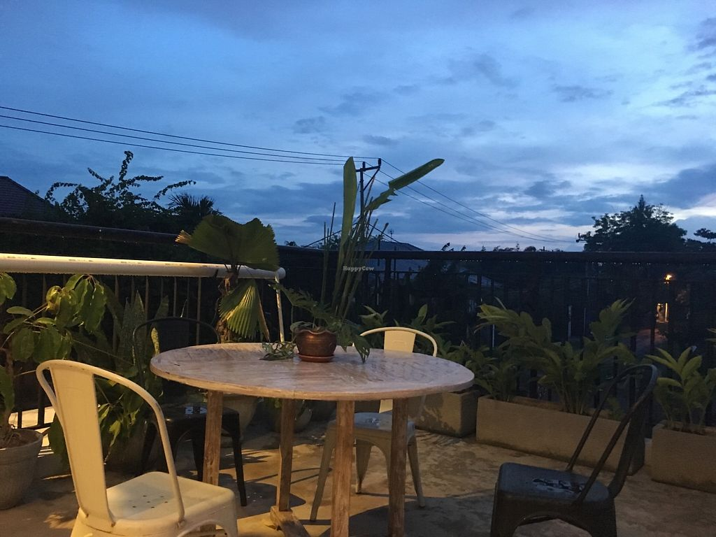 "Photo of Living Kitchen Bali  by <a href=""/members/profile/vanofvegan"">vanofvegan</a> <br/>View from outside tables <br/> January 7, 2018  - <a href='/contact/abuse/image/100972/343873'>Report</a>"