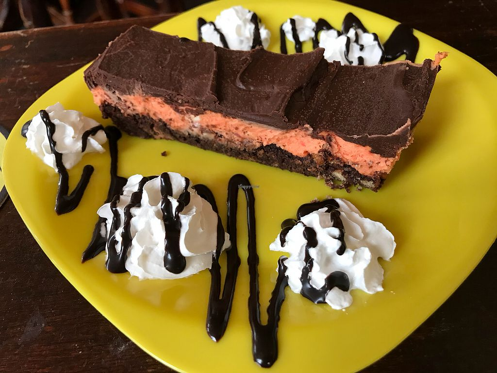 """Photo of The Caledonia  by <a href=""""/members/profile/VickiWanSlattery"""">VickiWanSlattery</a> <br/>Chocolate orange tray bake <br/> November 17, 2017  - <a href='/contact/abuse/image/100975/326416'>Report</a>"""