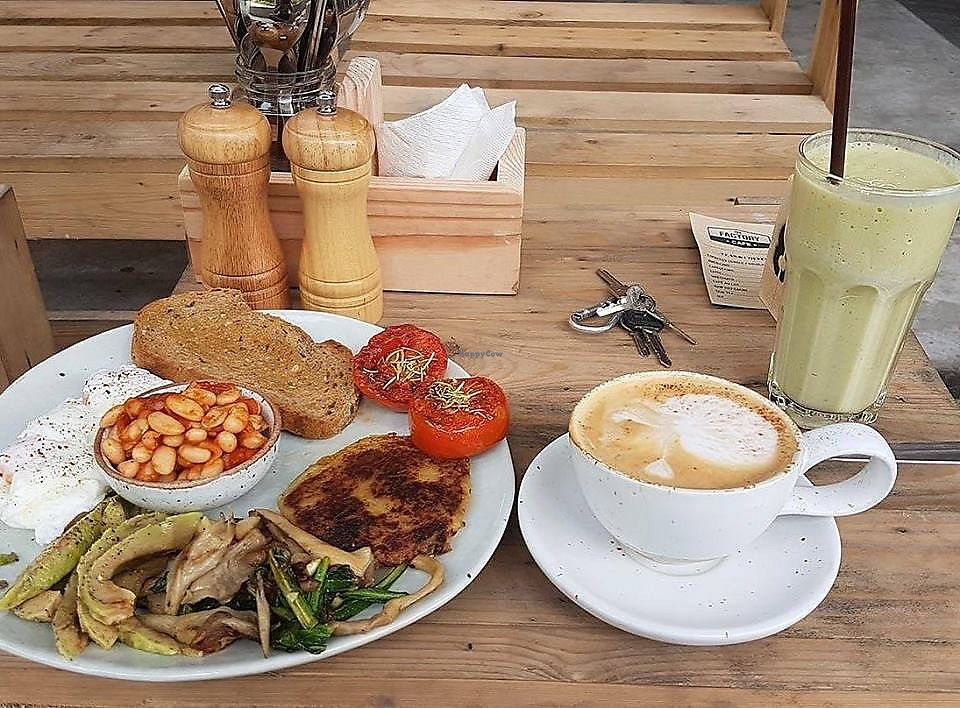 """Photo of The Factory Cafe  by <a href=""""/members/profile/AliceFerrer"""">AliceFerrer</a> <br/>Factory Brunch <br/> September 15, 2017  - <a href='/contact/abuse/image/101030/304635'>Report</a>"""