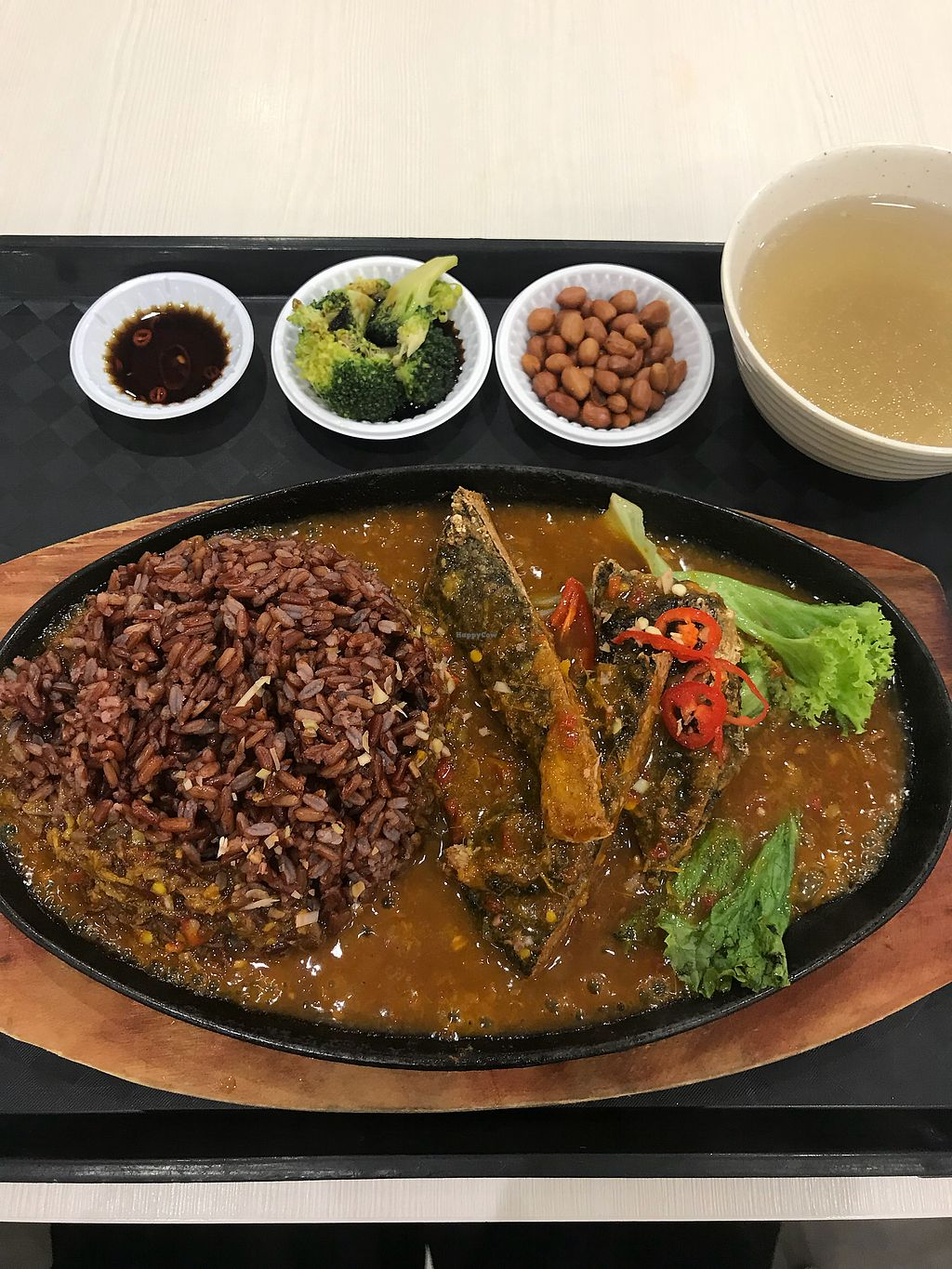 """Photo of T-vege Food Stall  by <a href=""""/members/profile/Peiying"""">Peiying</a> <br/>Samba Fish Rice Set <br/> March 23, 2018  - <a href='/contact/abuse/image/101052/374758'>Report</a>"""