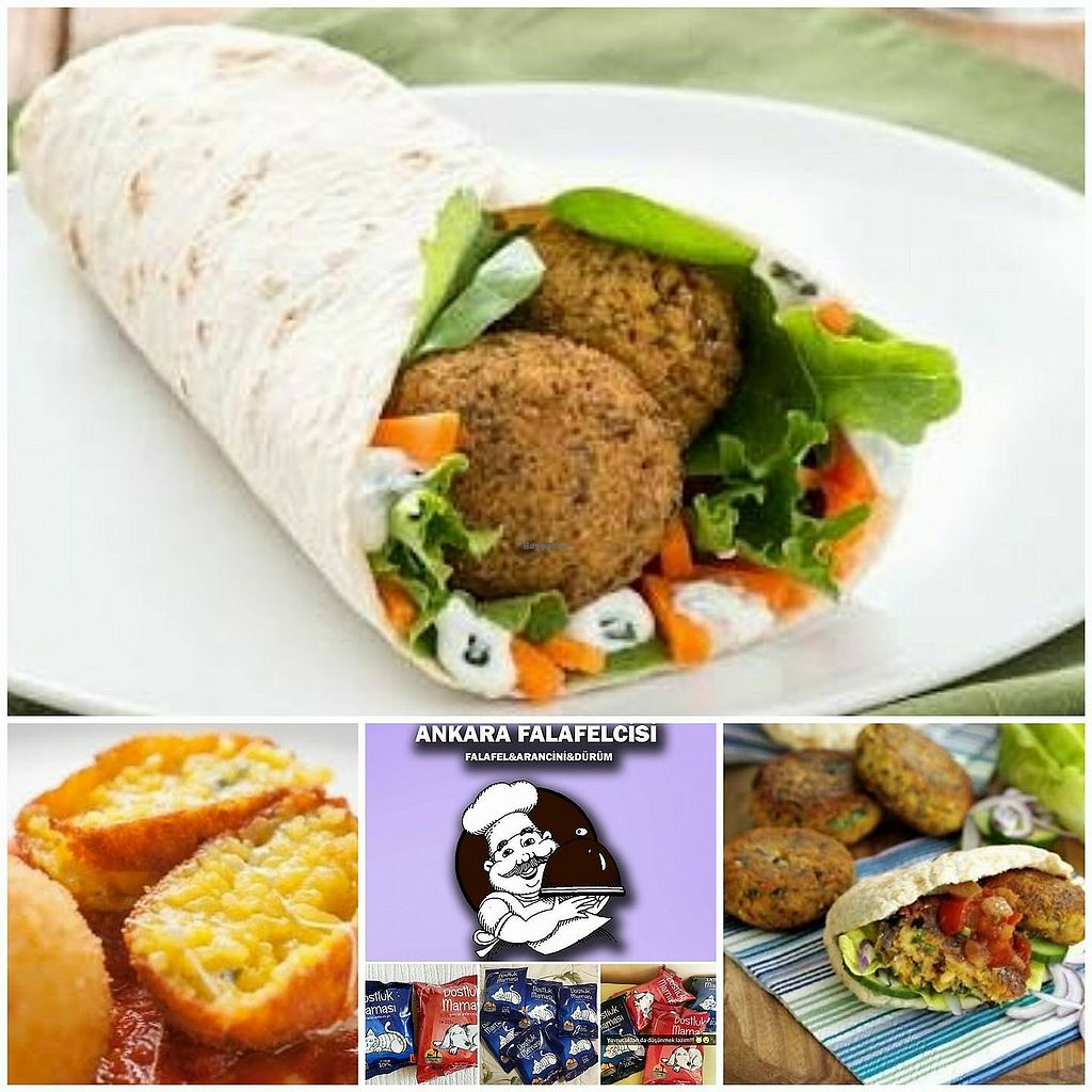 """Photo of Ankara Falafelcisi  by <a href=""""/members/profile/bourchuck"""">bourchuck</a> <br/>veggie wraps and falafel <br/> September 15, 2017  - <a href='/contact/abuse/image/101066/304828'>Report</a>"""