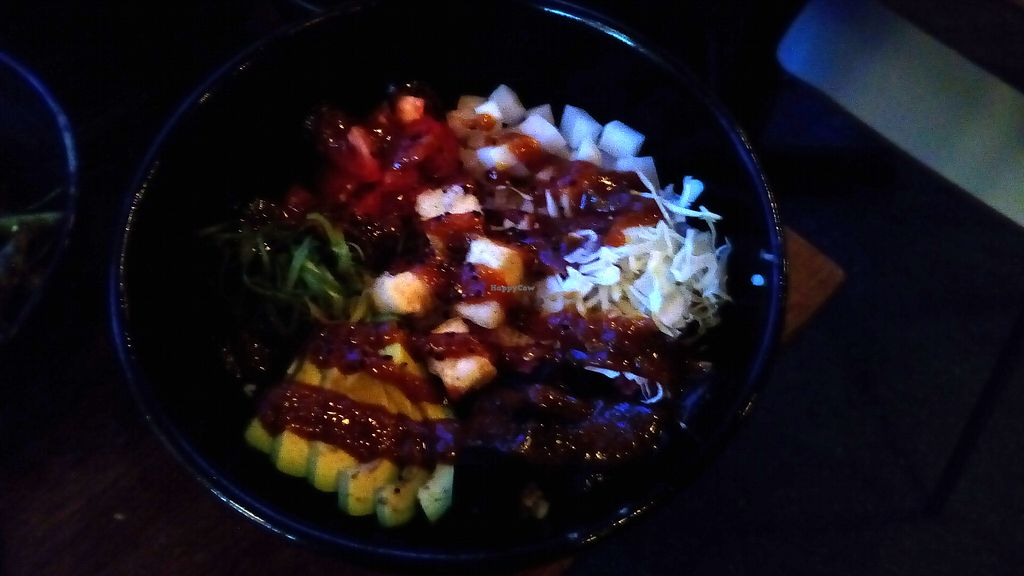 """Photo of Kuma  by <a href=""""/members/profile/reyley"""">reyley</a> <br/>Veggie Rice Bowl - best dish in the world!! <br/> September 18, 2017  - <a href='/contact/abuse/image/101076/305559'>Report</a>"""