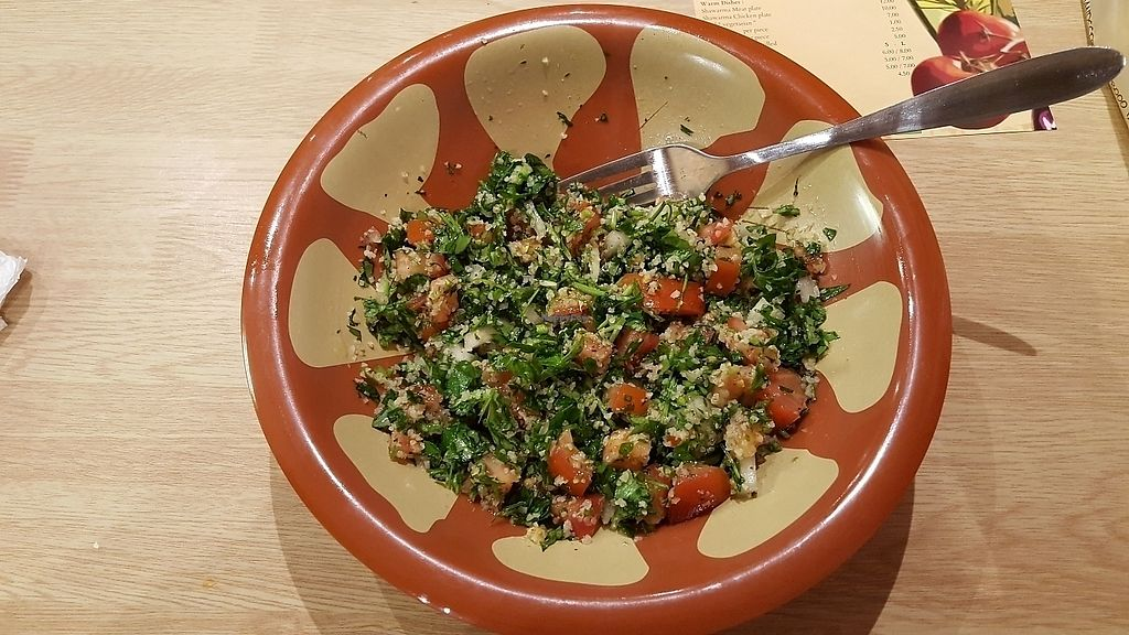"""Photo of Taboule  by <a href=""""/members/profile/Hanna_F"""">Hanna_F</a> <br/>Salad Tabouleh <br/> March 13, 2018  - <a href='/contact/abuse/image/101093/370188'>Report</a>"""