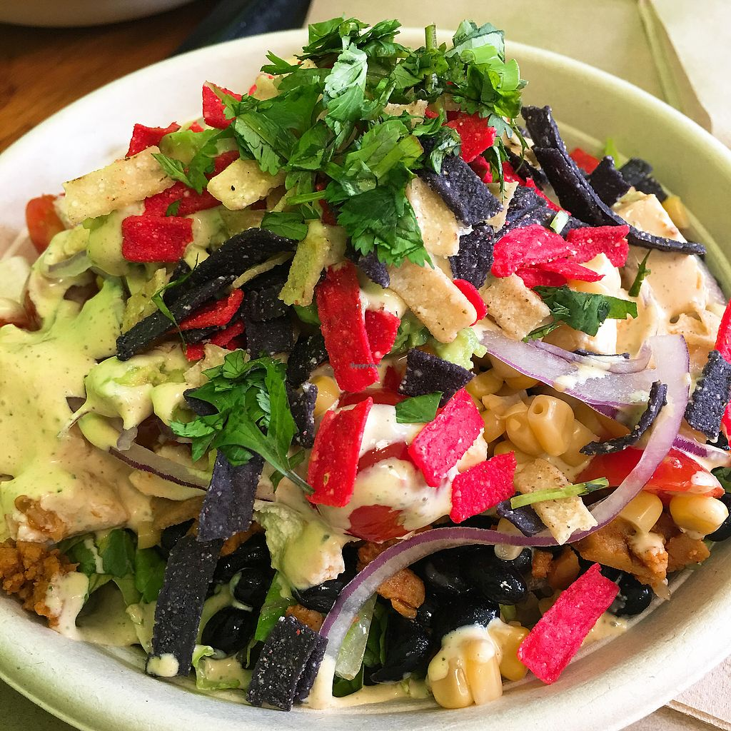 """Photo of Bodhi Bowl LA  by <a href=""""/members/profile/pinkseele"""">pinkseele</a> <br/>They donate to an animal sanctuary when you order The Giving Bowl <br/> December 16, 2017  - <a href='/contact/abuse/image/101103/336179'>Report</a>"""