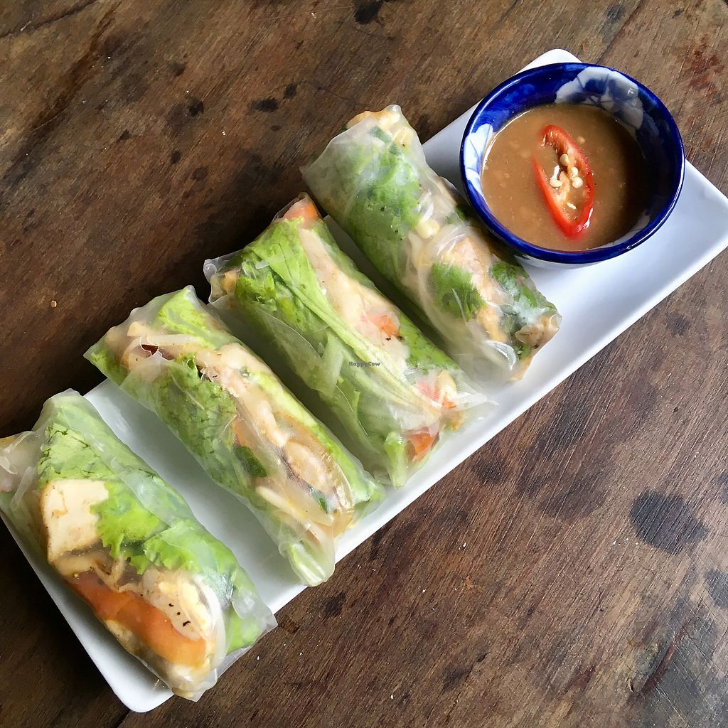 """Photo of What Else Cafe  by <a href=""""/members/profile/BigVeegs"""">BigVeegs</a> <br/>Yummy summer rolls <br/> January 14, 2018  - <a href='/contact/abuse/image/101159/346375'>Report</a>"""