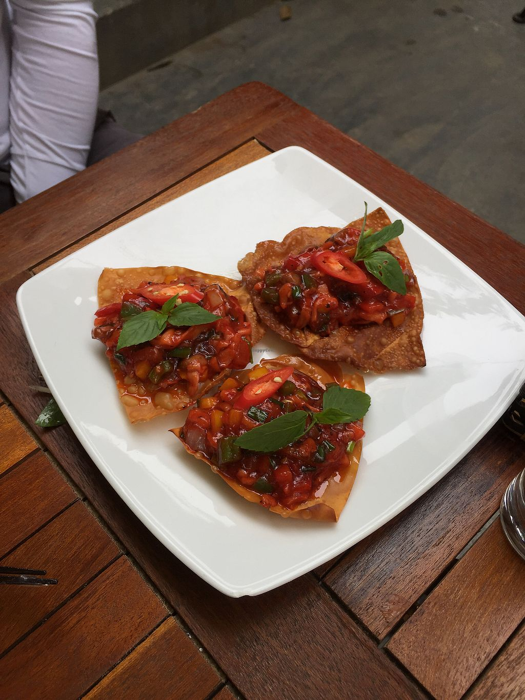 """Photo of What Else Cafe  by <a href=""""/members/profile/kars10"""">kars10</a> <br/>Vegan Wonton  <br/> February 1, 2018  - <a href='/contact/abuse/image/101159/353520'>Report</a>"""