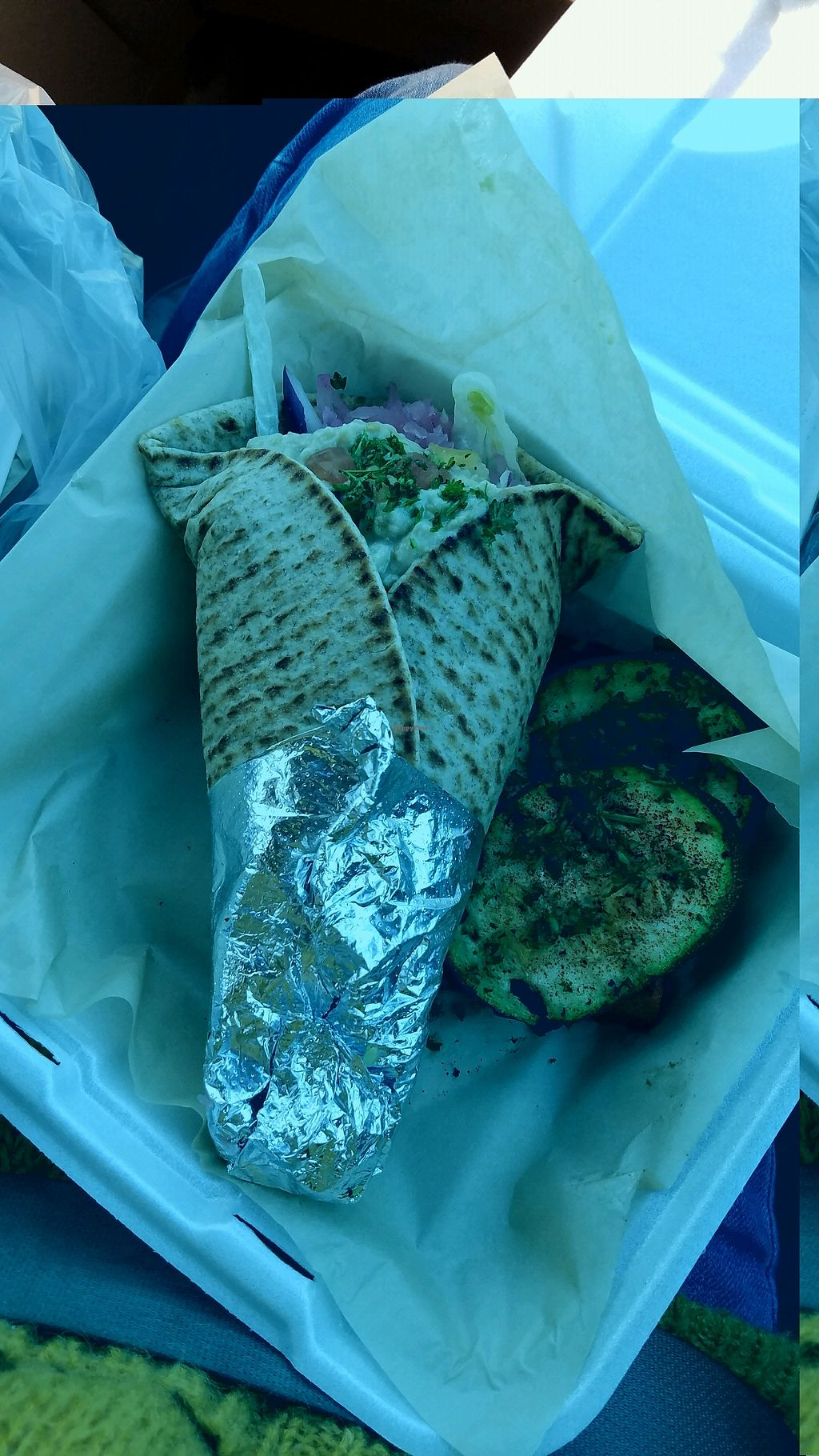 """Photo of Pita Mediterranean Street Food  by <a href=""""/members/profile/rachelgirl8"""">rachelgirl8</a> <br/>veggie wrap with grilled veggies <br/> January 31, 2018  - <a href='/contact/abuse/image/101162/352985'>Report</a>"""