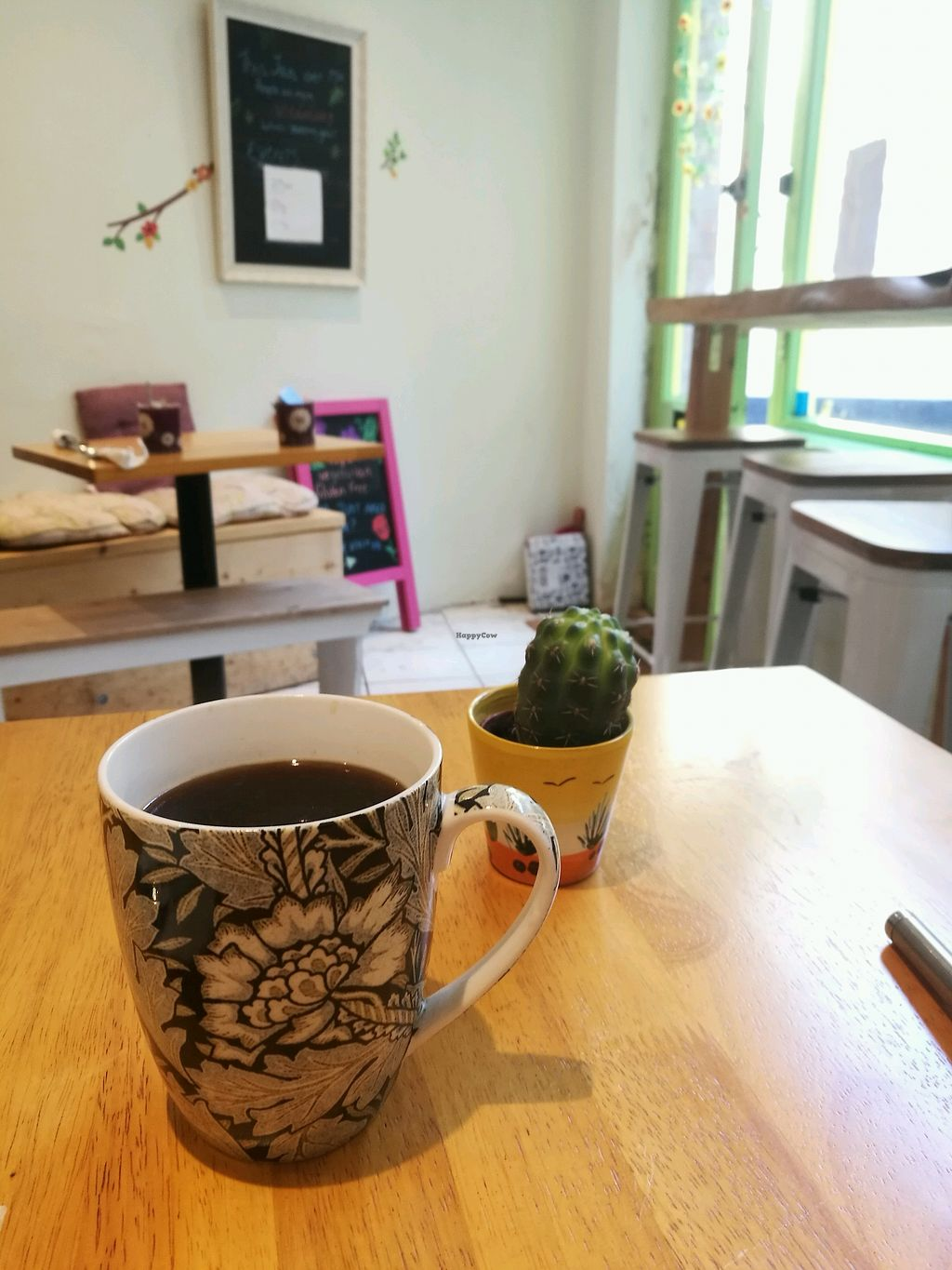 """Photo of Purity Petal Cafe  by <a href=""""/members/profile/JemmaStovell"""">JemmaStovell</a> <br/>Americano <br/> April 20, 2018  - <a href='/contact/abuse/image/101172/388400'>Report</a>"""