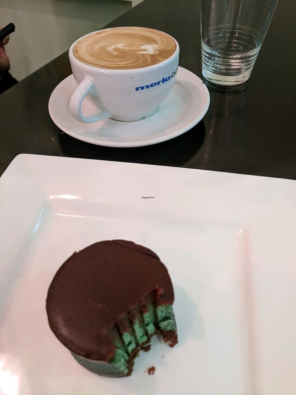 "Photo of Orchid Vegetarian Cafe  by <a href=""/members/profile/MarionFrancisVannuc"">MarionFrancisVannuc</a> <br/>Choc Peppermint slice, and a flat white <br/> January 14, 2018  - <a href='/contact/abuse/image/101246/346512'>Report</a>"