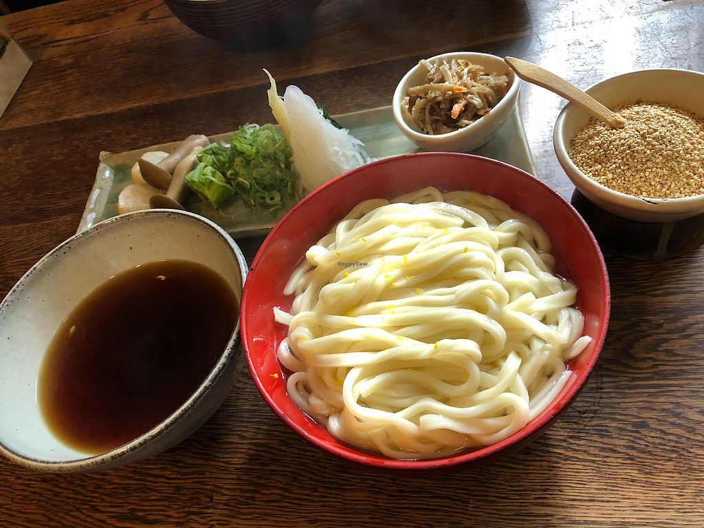 """Photo of Omen  by <a href=""""/members/profile/Xanato5"""">Xanato5</a> <br/>Udon with toppings and dipping sauce  <br/> December 1, 2017  - <a href='/contact/abuse/image/101253/331029'>Report</a>"""