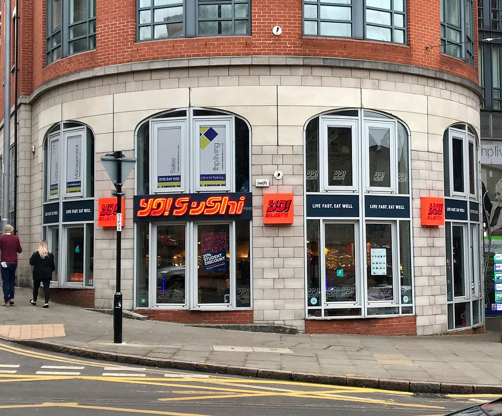 """Photo of Yo Sushi  by <a href=""""/members/profile/Chris_D"""">Chris_D</a> <br/>Yo Sushi shopfront <br/> December 2, 2017  - <a href='/contact/abuse/image/101254/331523'>Report</a>"""