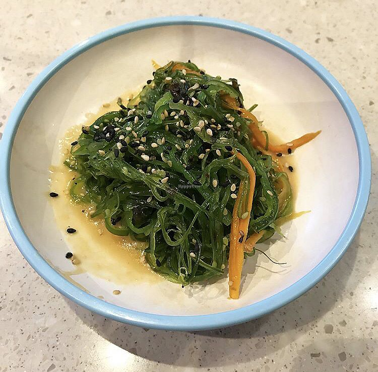 """Photo of Yo Sushi  by <a href=""""/members/profile/_vegayn_"""">_vegayn_</a> <br/>Seaweed <br/> April 11, 2018  - <a href='/contact/abuse/image/101254/384140'>Report</a>"""