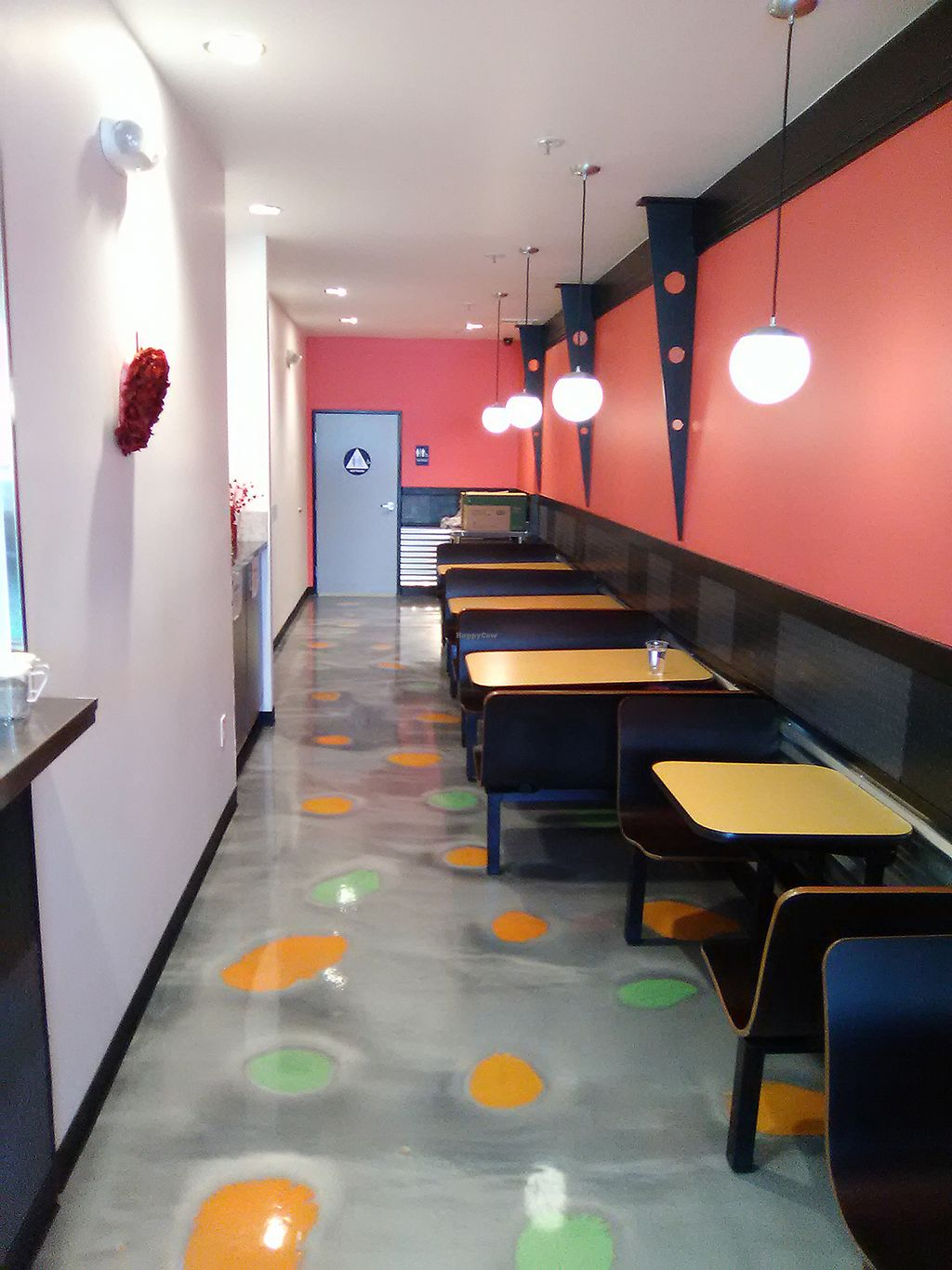 "Photo of Boba Nosh  by <a href=""/members/profile/mexivegan"">mexivegan</a> <br/>Interior seating near view of kitchen <br/> February 14, 2018  - <a href='/contact/abuse/image/101282/359063'>Report</a>"