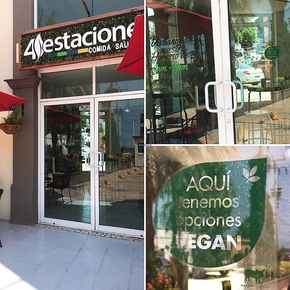 """Photo of 4 Estaciones Comida Saludable  by <a href=""""/members/profile/YanethGris"""">YanethGris</a> <br/>4 Estaciones Comida Saludable is a vegan friendly place recommended by The Humane League.  <br/> September 26, 2017  - <a href='/contact/abuse/image/101314/308606'>Report</a>"""