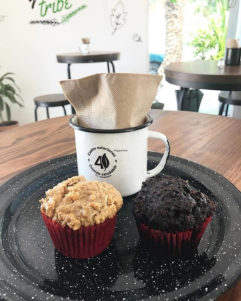 """Photo of 4 Estaciones Comida Saludable  by <a href=""""/members/profile/YanethGris"""">YanethGris</a> <br/>Vegan muffins  <br/> September 26, 2017  - <a href='/contact/abuse/image/101314/308607'>Report</a>"""