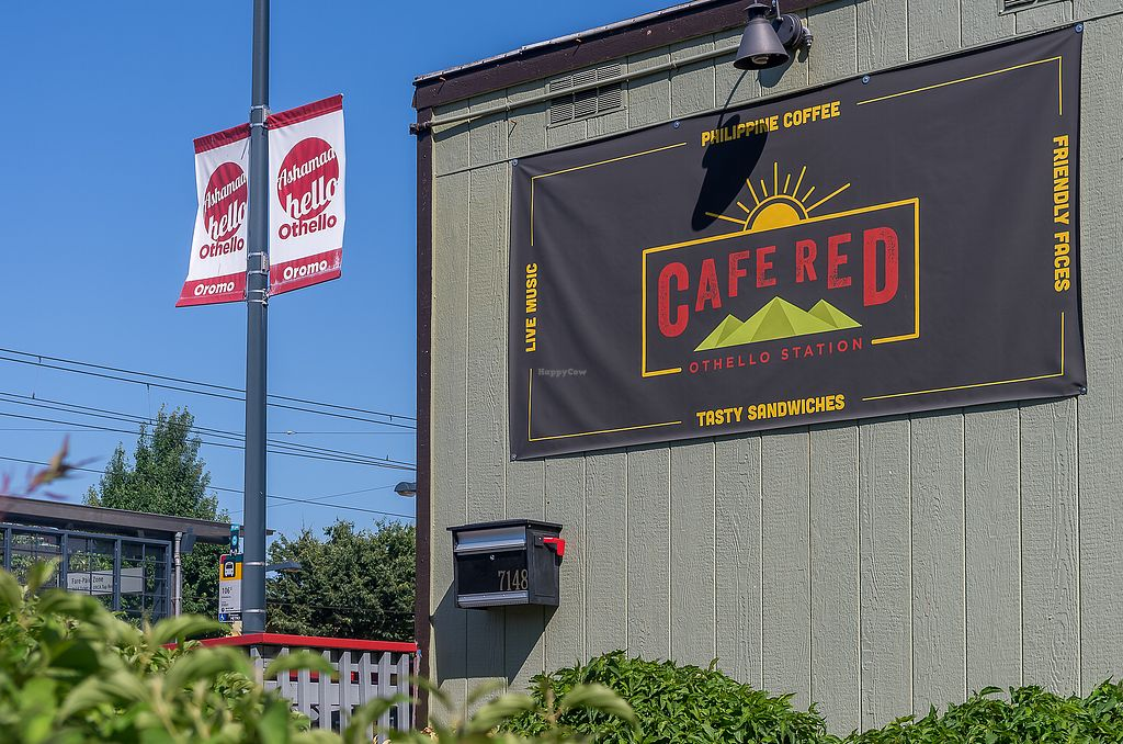 "Photo of Cafe Red  by <a href=""/members/profile/haley_paige91"">haley_paige91</a> <br/>Right next to Othello Light Rail station! <br/> September 20, 2017  - <a href='/contact/abuse/image/101350/306544'>Report</a>"