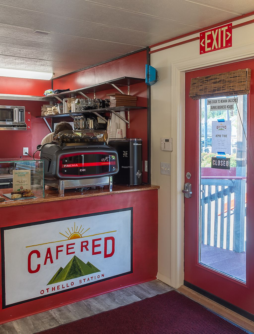 "Photo of Cafe Red  by <a href=""/members/profile/haley_paige91"">haley_paige91</a> <br/>Front counter <br/> September 20, 2017  - <a href='/contact/abuse/image/101350/306548'>Report</a>"